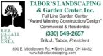 TABOR'S LANDSCAPING & GARDEN CENTER, INC.